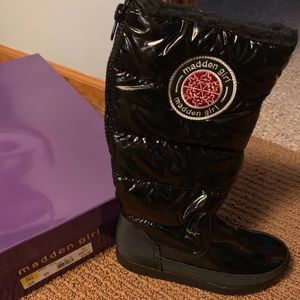 Madden Girl Winter Boots - NEW IN BOX - NEVER WORN